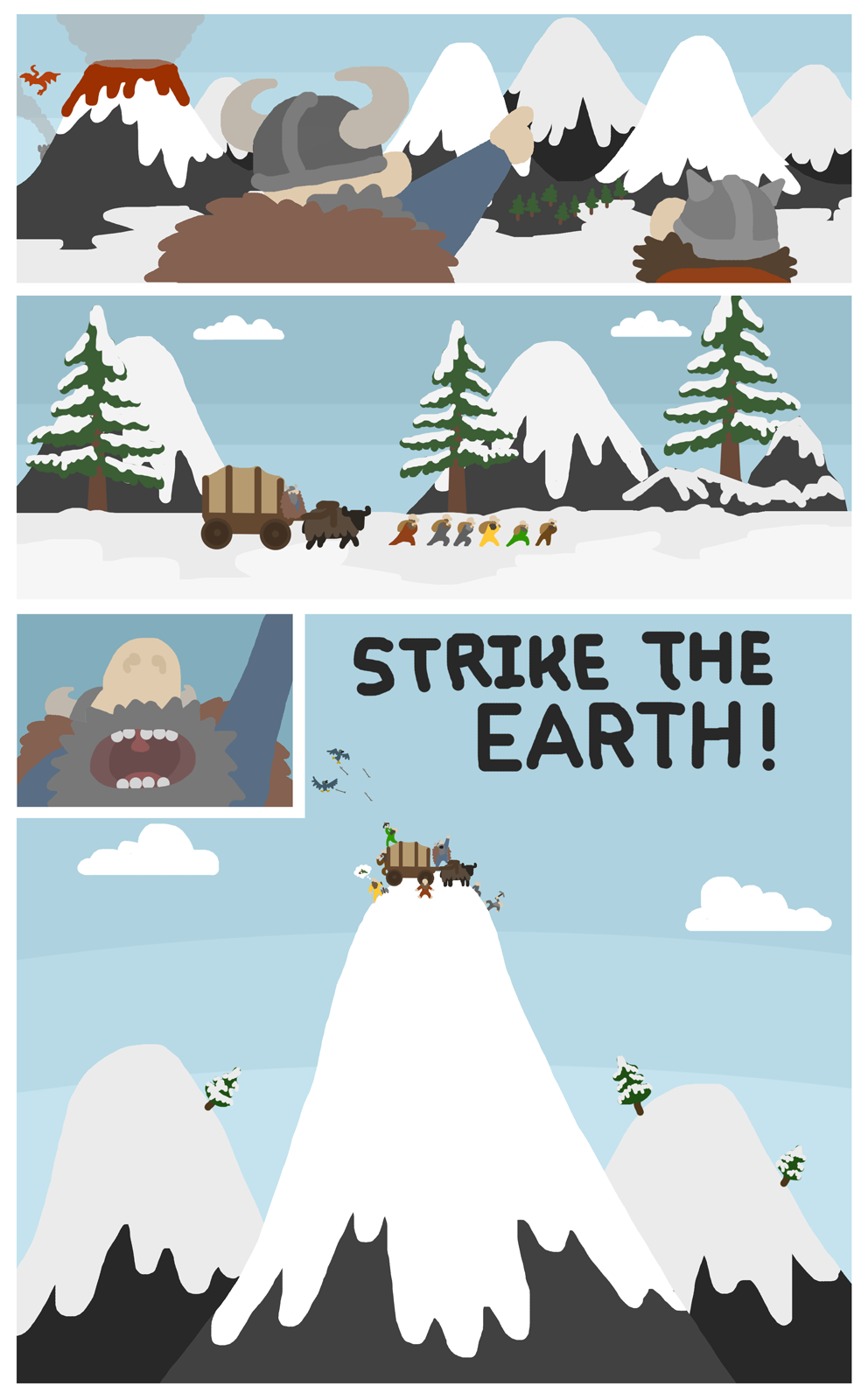 Snowy Mountain Embark